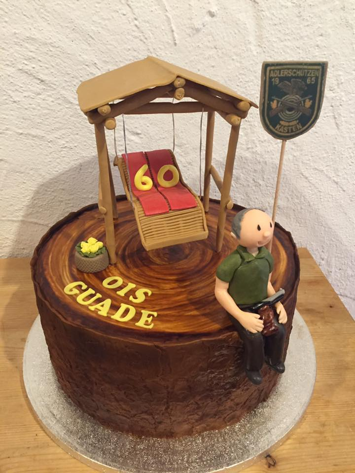 Geburtstagstorte für Opa