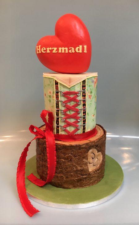 Geburtstagstorte Herzmadl